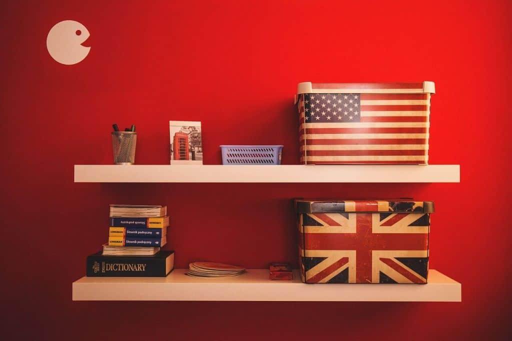 Pokój miłośnika języka angielskiego