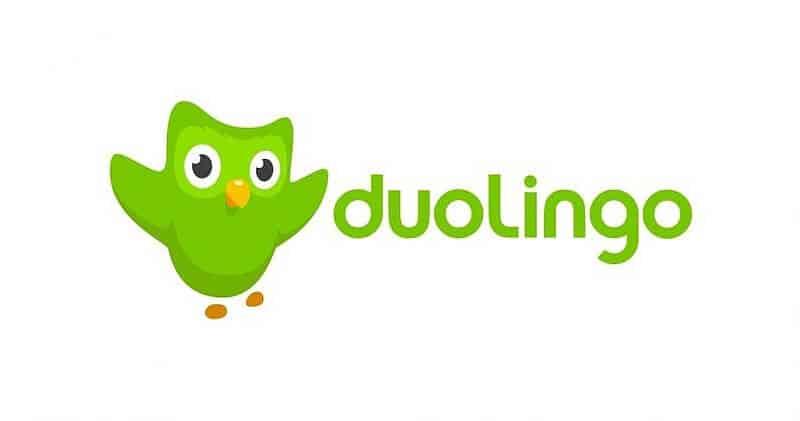 Logo aplikacji Duolingo