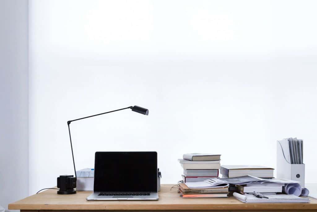 Przestrzeń na biurku