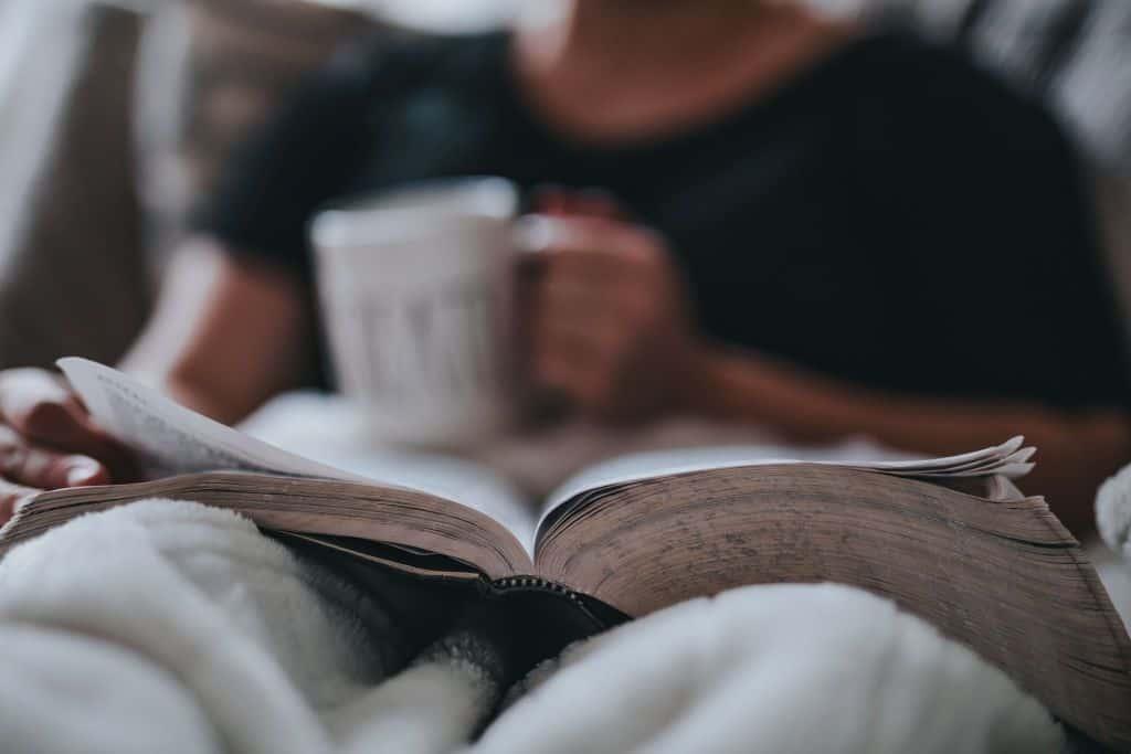 Relaks przy książce