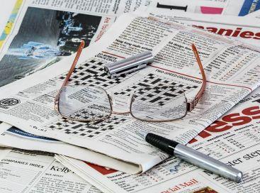 Krzyżówka w gazecie