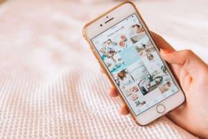 Aplikacja Instagrama na telefonie