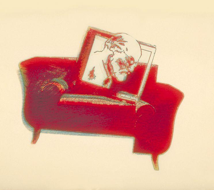 Zygmund Freud na kanapie