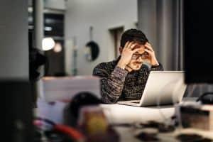 Problemy z koncentracją w pracy