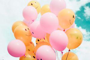 Balony z uśmiechami